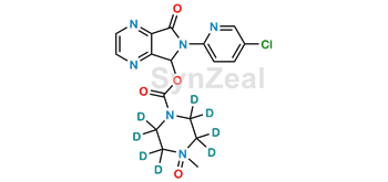 Picture of Zopiclone D8 N-Oxide