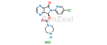 Picture of N-Demethyl Eszopiclone HCl