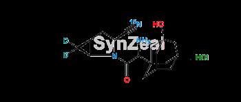 Picture of Saxagliptin-15N,D2 Hydrochloride