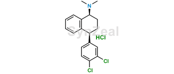 Picture of Sertraline Dimethyl Impurity HCl