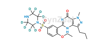 Picture of N-desmethyl Sildenafil D8