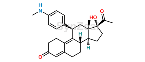 Picture of Ulipristal N-Desmethyl Impurity