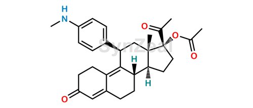 Picture of N-Desmethyl Ulipristal Acetate