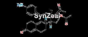 Picture of N,N-Didesmethyl Ulipristal Acetate