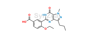 Picture of Sildenafil Carboxylic Acid Impurity