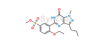 Picture of Sildenafil Methyl Sulfonate Ester Impurity