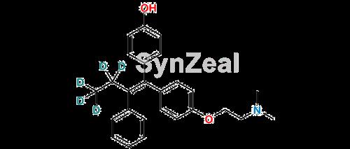 Picture of (Z)-4-Hydroxy-N-Desmethyl TamoxifenD5