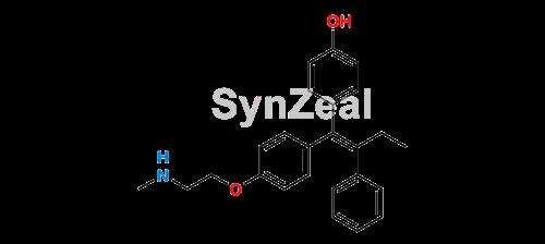 Picture of 4-Hydroxy-N-Desmethyl Tamoxifen