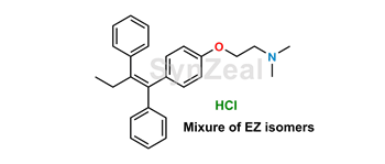 Picture of Tamoxifen mixture of EZ isomers HCl
