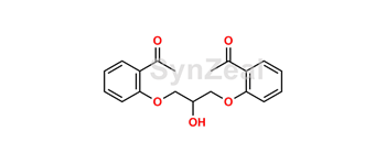 Picture of 1,3-bis(2-acetyl-3-phenoxy)-2-propanol