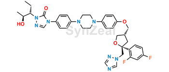 Picture of Posaconazole Diastereoisomer 3 (S,R,R,R)