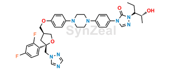 Picture of Posaconazole Diastereoisomer 11 (S,S,R,R)