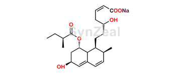 Picture of Pravastatin 2,3-Anhydro Acid Sodium Salt