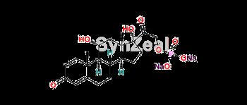 Picture of Prednisolone sodium phosphate Impurity Isomer 1