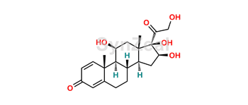 Picture of 16-beta hydroxy Prednisolone