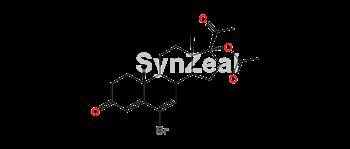 Picture of 6-Bromo-delta 6-chloro-acetoxyprogesterone