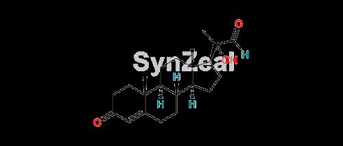 Picture of Progesterone 20-Hydroxy Impurity (Pregn-4-ene-20-Carboxaldehyde)