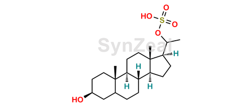 Picture of 5α-pregnan-3β, 20β-diol-20-sulphate