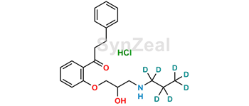 Picture of Propafenone D7 Hydrochloride