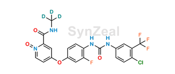 Picture of Regorafenib N-Oxide D3