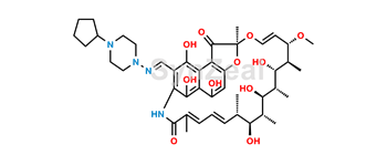 Picture of 25-Desacetyl Rifapentine