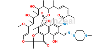 Picture of 25-Desacetyl-21-acetyl rifampicin