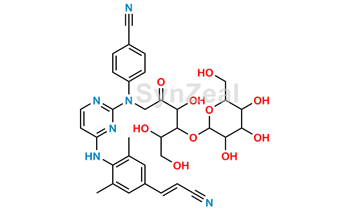 Picture of Rilpivirine Glycosamine and Amadori Rearrangement product-II