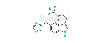 Picture of N-Desmethyl Rizatriptan D3