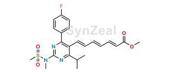 Picture of Rosuvastatin 2,3,4,5-Dianhydro Acid Methyl Ester