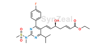 Picture of Rosuvastatin 2,3-Anhydro Acid Ethyl Ester
