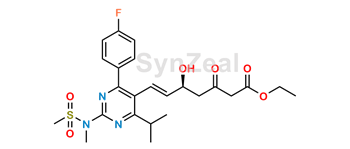 Picture of Rosuvastatin 3-Oxo Acid Ethyl Ester