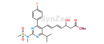 Picture of Rosuvastatin 4,5-Anhydro Acid Sodium Salt