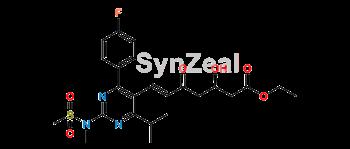 Picture of Rosuvastatin 5-Oxo Acid Ethyl Ester
