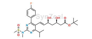 Picture of Rosuvastatin Acid t-Butyl Ester