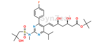 Picture of Rosuvastatin EP Impurity A t-Butyl Ester