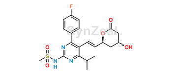 Picture of Rosuvastatin N-Desmethyl Lactone