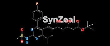 Picture of Rosuvastatin N-Desmethyl t-Butyl Ester