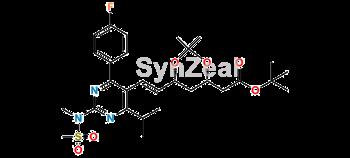 Picture of Rosuvastatin KSM (4S,6R)-isomer