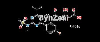 Picture of Rosuvastatin EP Impurity C (Calcium Salt)