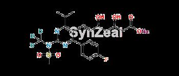 Picture of Rosuvastatin D3 Sodium
