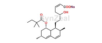 Picture of Simvastatin Anhydro Acid Sodium Salt