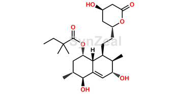 Picture of Simvastatin Dihydro Diol Impurity