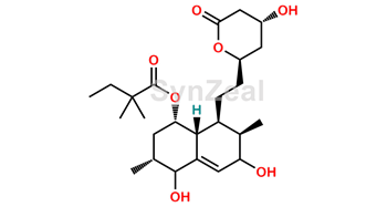 Picture of 3',5'-Dihydrodiol Simvastatin