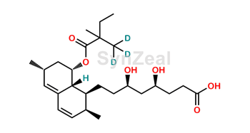 Picture of Simvastatin acid D3