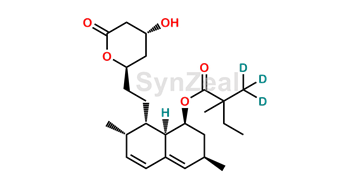 Picture of Simvastatin acid D3 Lactone