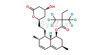 Picture of Simvastatin acid D6 Lactone