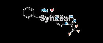 Picture of Sitagliptin Desfluorobenzene Analog