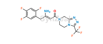 Picture of Sitagliptin Enamine Impurity
