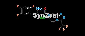 Picture of Sitagliptin Impurity E HCl (Sitagliptin S-Isomer HCl)