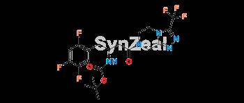 Picture of Sitagliptin Impurity 18 (Sitagliptin N-Boc Impurity)